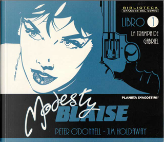 Modesty Blaise 1 by Jim Holdaway, Peter O'Donnell