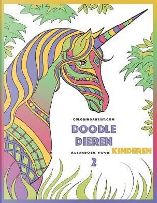 Doodle Dieren Kleurboek Voor Kinderen by Nick Snels