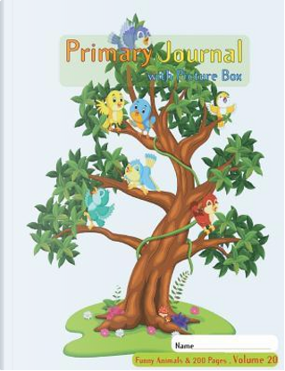 Primary Journal with picture box by Eddie Kirk