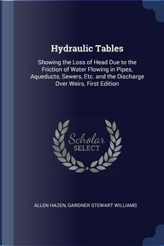 Hydraulic Tables by Allen Hazen