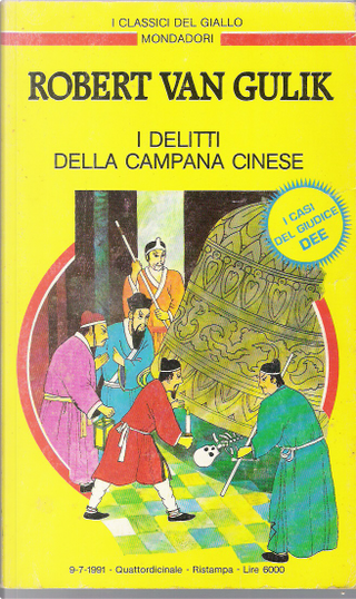 I delitti della campana cinese by Robert Van Gulik