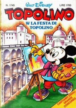 Topolino n. 1745 by Bruno Sarda, Carlo Chendi, Ed Nofziger, Giovan Battista Carpi, Guido Scala