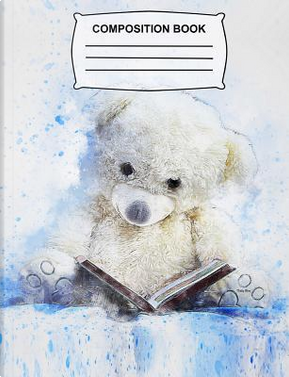 Teddy Bear Composition Book by Firefly Journals