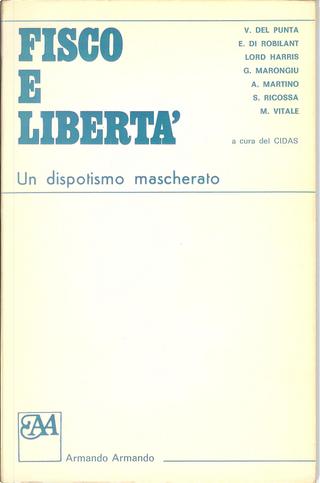 Fisco e libertà by