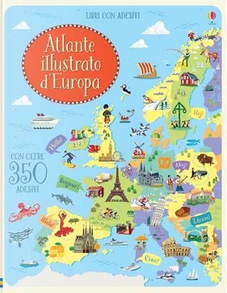 Atlante d'Europa. Con adesivi. Ediz. illustrata by Jonathan Melmoth
