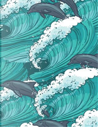Dolphin Notebook by Dolphin Notebook
