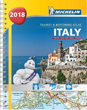 Italy - Tourist and Motoring Atlas 2018 (A4-Spiral) by Michelin
