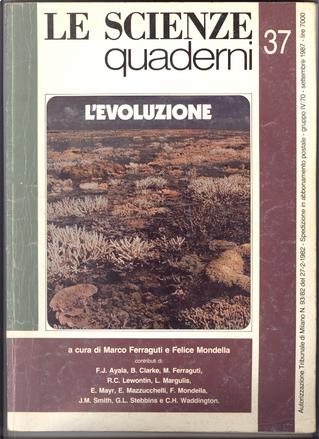 Le Scienze Quaderni No 37