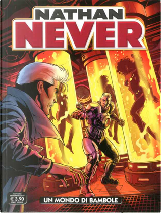 Nathan Never n. 340 by Piero Fissore