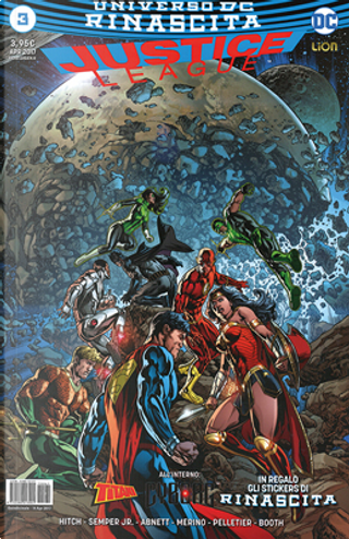 Justice League #3 by Bryan Hitch, Dan Abnett, John Semper Jr.