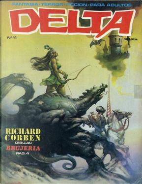 Delta #11 by Don McGregor, Ernie Colon, Pat Boyette, Ralph Reese, Richard Corben, Rudy Nebres, Tom Sutton