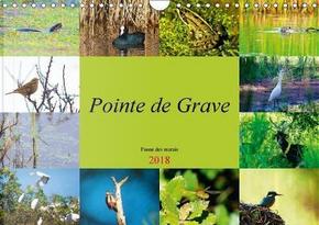 Pointe de Grave Faune des Marais Calendrier Mural 2018 Din a by Duperou Dom S