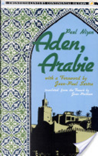 Aden, Arabie by Paul Nizan