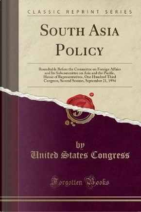 South Asia Policy by United States Congress