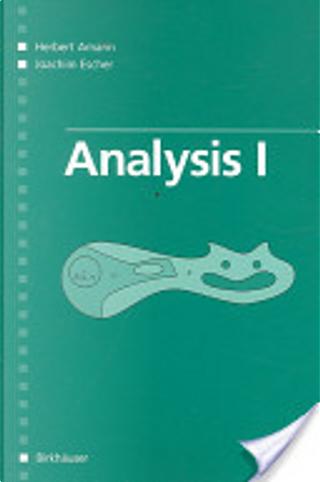 Analysis I by Herbert Amann