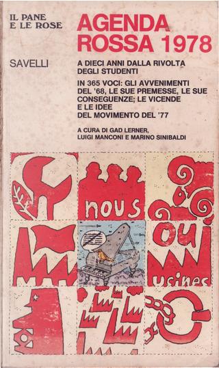 Agenda Rossa 1978 by Gad Lerner, Luigi Manconi, Marino Sinibaldi