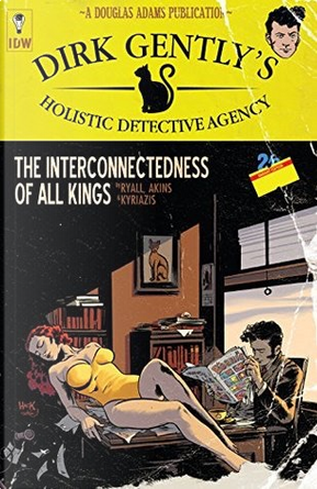 Dirk gently's holistic detective agency by Chris Ryall