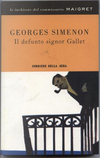 Il defunto signor Gallet by Georges Simenon