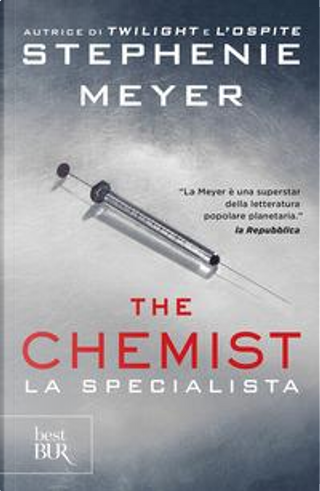 The chemist. La specialista by Stephenie Meyer