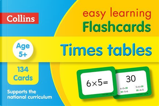 Times Tables Flashcards (Collins Easy Learning KS2) by Collins Easy Learning