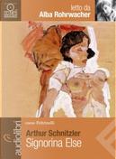 Signorina Else by Arthur Schnitzler