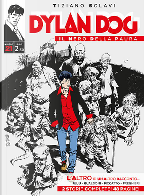 Dylan Dog - Il nero della paura n. 21 by Giovanni Gualdoni, Pasquale Ruju
