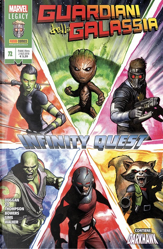 Guardiani della Galassia vol. 72 by Chad Bowers, Chris Sims, Gerry Duggan, Robbie Thompson