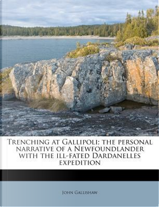 Trenching at Gallipoli; The Personal Narrative of a Newfoundlander with the Ill-Fated Dardanelles Expedition by John Gallishaw
