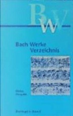Bach-Werke-Verzeichnis by Wolfgang Schmieder
