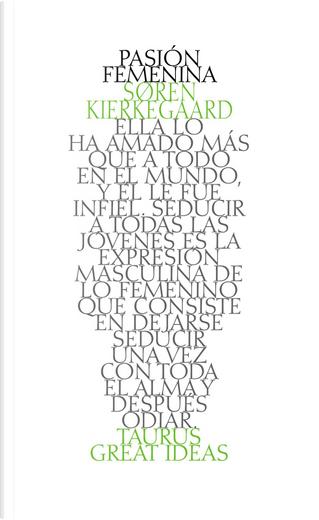 Pasión femenina by Søren Kierkegaard