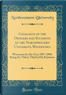 Catalogue of the Officers and Students of the Northwestern University, Watertown by Northwestern University