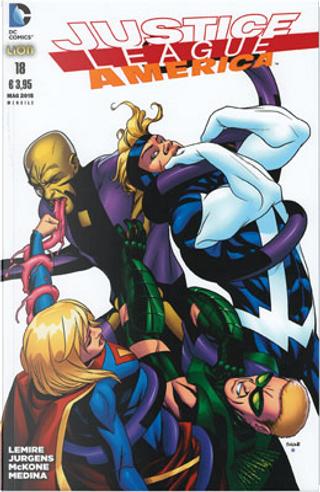 Justice League America n. 18 by Dan Jurgens, Jeff Lemire