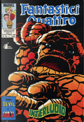 Fantastici Quattro n. 30 by Al Milgrom, Dennis O'Neil, John Byrne