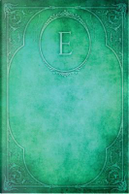 Monogram E Blank Book by N. D. Author Services