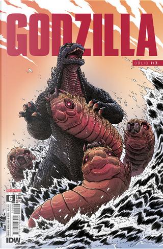 Godzilla #6 by Joshua Hale Fialkov