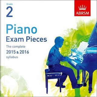 Piano Exam Pieces 2015 & 2016, Grade 2, CD by Divers Auteurs