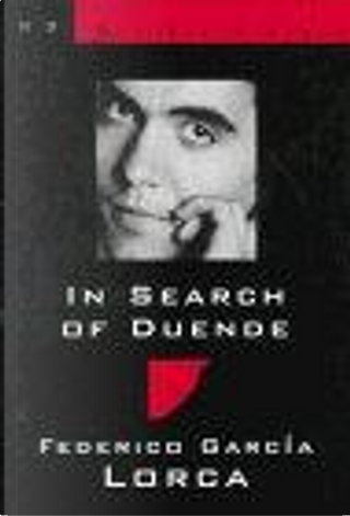 In Search of Duende by Christopher Maurer, Federico Garcia Lorca, Norman Thomas Di Giovanni