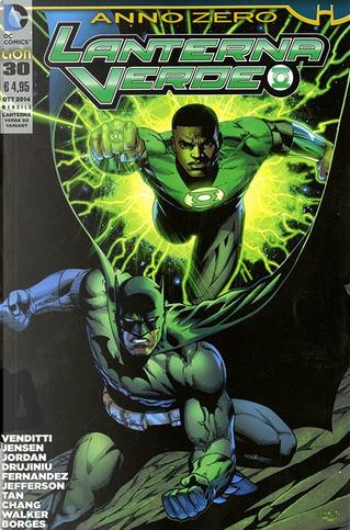 Lanterna Verde #30 - Variant by Justin Jordan, Robert Venditti, Van Jensen