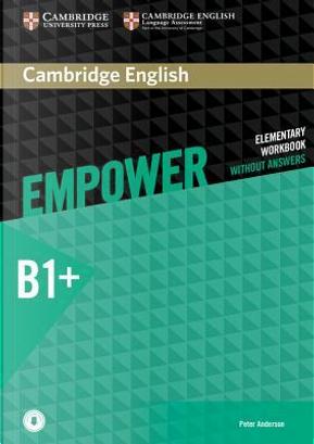 Empower. B1. Intermediate. Workook. Without answers. Per le Scuole superiori. Con e-book. Con espansione online by Adrian Doff