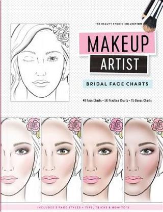 Makeup Artist Bridal Face Charts by Gina M. Reyna