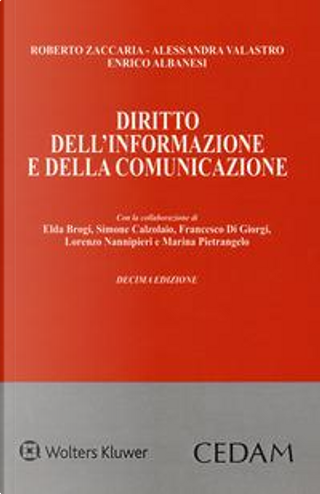 Diritto dell'informazione e della comunicazione. Con e-book by Roberto Zaccaria