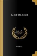 Lesen Und Reden by Karl Hilty
