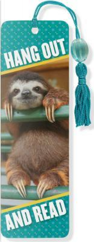 Baby Sloth Beaded Bookmark by Peter Pauper Press