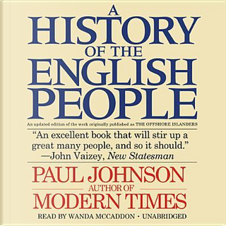 A History of the English People by PAUL JOHNSON