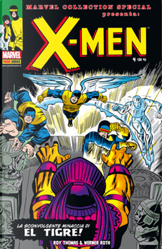 X-Men n. 4 (di 4) by Roy Thomas