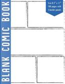 5 Bolder Comics Panel Blank Comic Book by Cosmoq