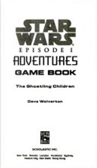 Star wars episode I adventures by Dave Wolverton