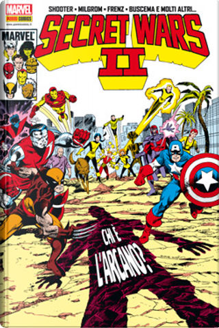 Marvel Omnibus: Secret Wars II vol. 1 by Mike Carlin, Tom DeFalco, Chris Claremont, Danny Fingeroth, Dennis O'Neil, Mark Gruenwald, Bill Mantlo, Jim Shooter, Roger Stern, Louise Simonson, Walter Simonson, Peter B. Gillis