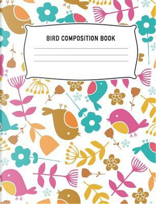 Bird Composition Book by Aguilar Publications