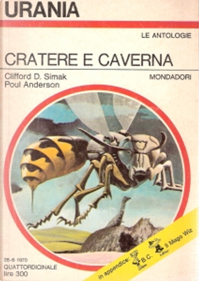 Cratere e caverna by Clifford Simak, Irwin Ross, Poul Anderson
